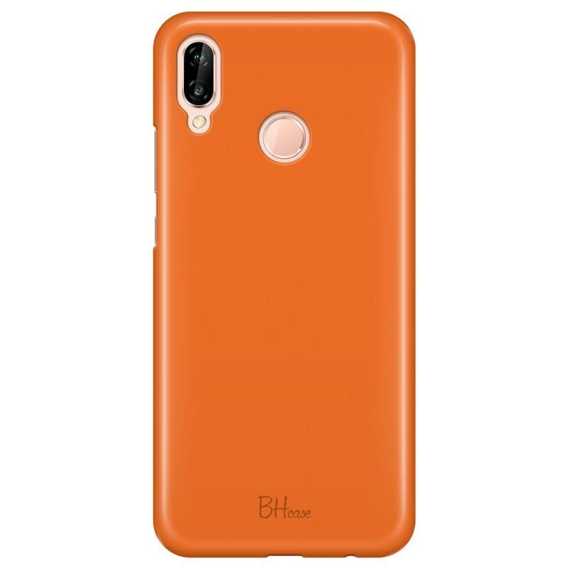 Tiger Orange Color Case Huawei P20 Lite/Nova 3E