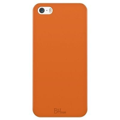 Tiger Orange Color Case iPhone SE/5S