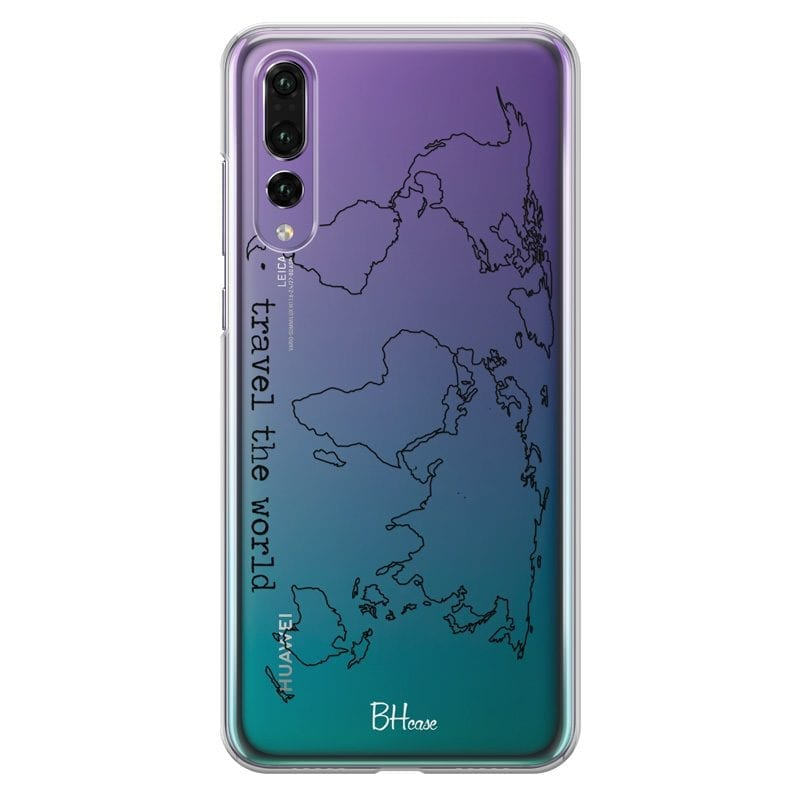 Travel The World Case Huawei P20 Pro