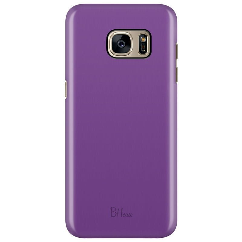 Violet Color Case Samsung S7 Edge