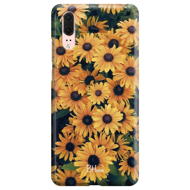 Yellow Flowers Case Huawei P20