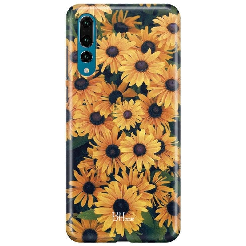 Yellow Flowers Case Huawei P20 Pro