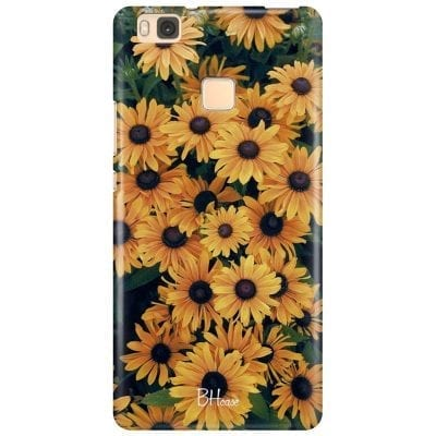 Yellow Flowers Case Huawei P9 Lite