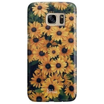 Yellow Flowers Case Samsung S7