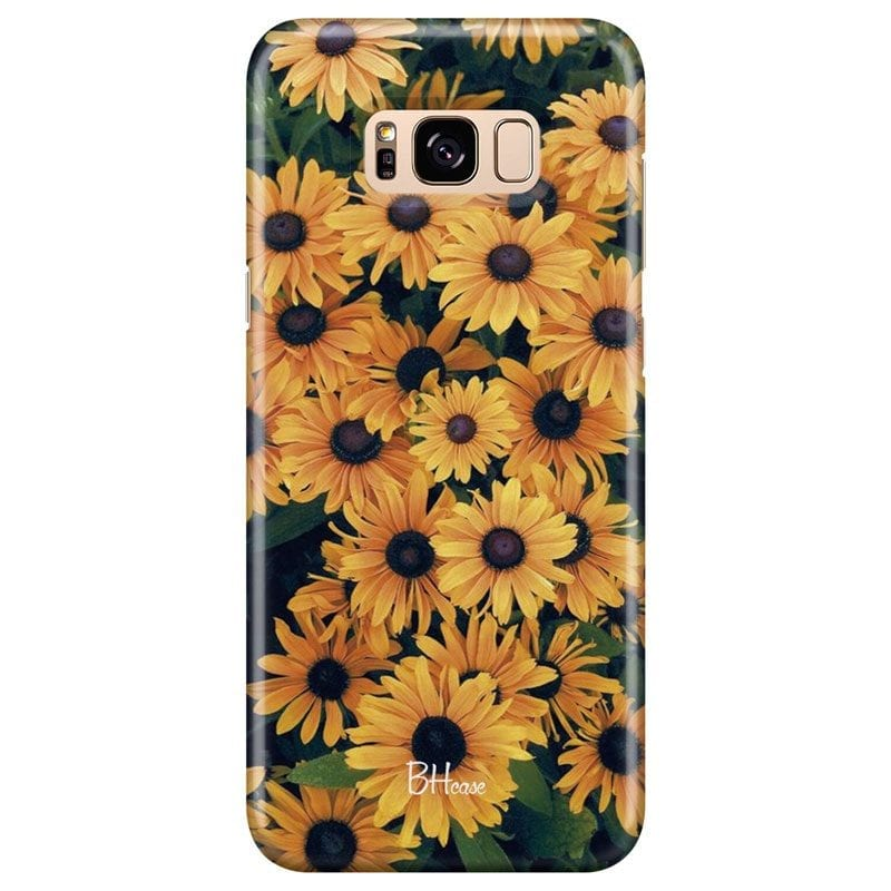 Yellow Flowers Case Samsung S8