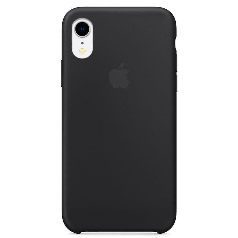 Apple Black Silicone Case iPhone XR