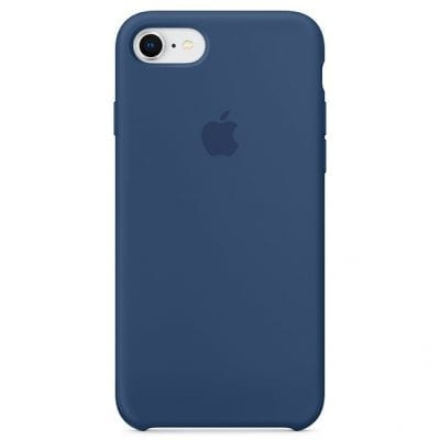 Apple Blue Cobalt Silicone Case iPhone 8/7