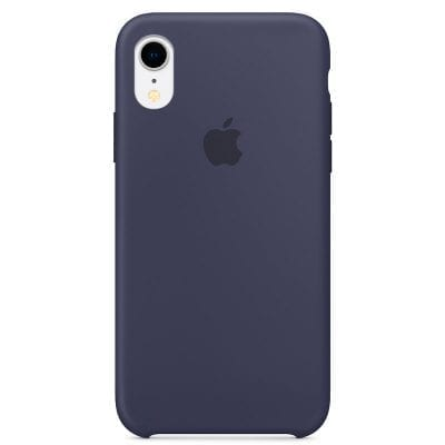 Apple Midnight Blue Silicone Case iPhone XR