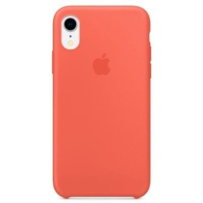 Apple Nectarine Silicone Case iPhone XR