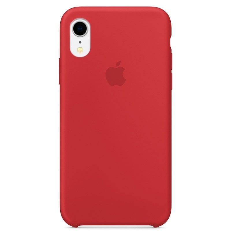 Apple Product Red Silicone Case iPhone XR
