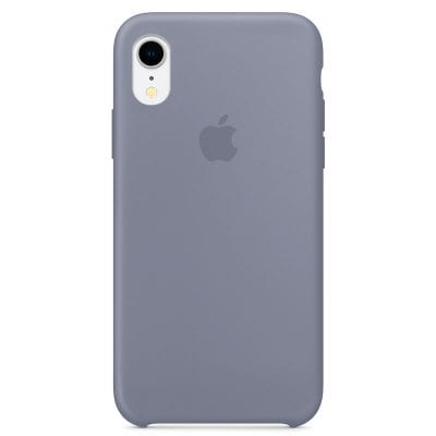 Apple Lavender Gray Silicone Case iPhone XR