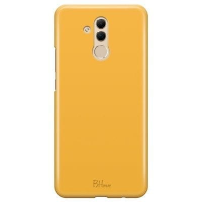 Honey Yellow Color Case Huawei Mate 20 Lite