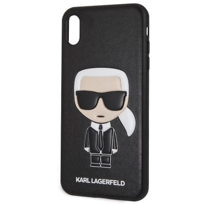 Karl Lagerfeld Ikonik TPU Black Case iPhone XS Max