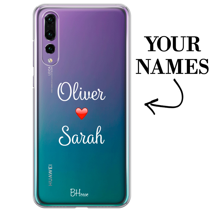 Case with double name for Huawei P20 Pro