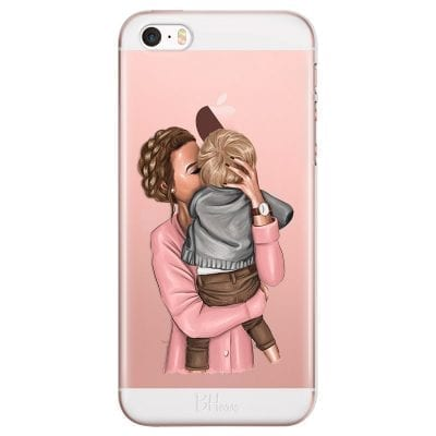 Mom With Baby Case iPhone SE/5S