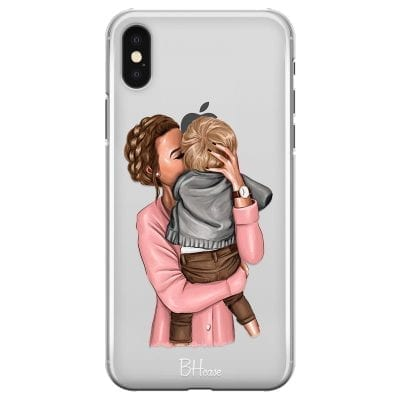 Mom With Baby Case iPhone X/XS