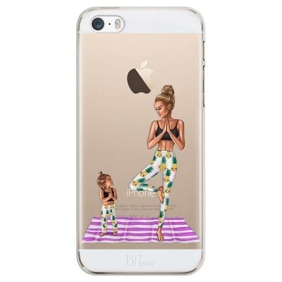 Mom Yoga Case iPhone SE/5S