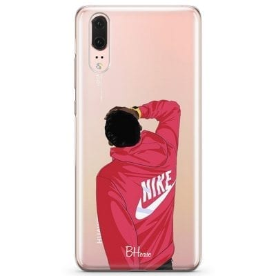 Back Boy Nike Case Huawei P20