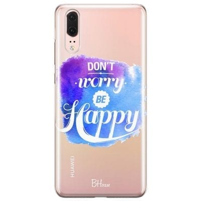 Don't Worry Be Happy Case Huawei P20