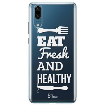 Eat Fresh And Healthy Case Huawei P20