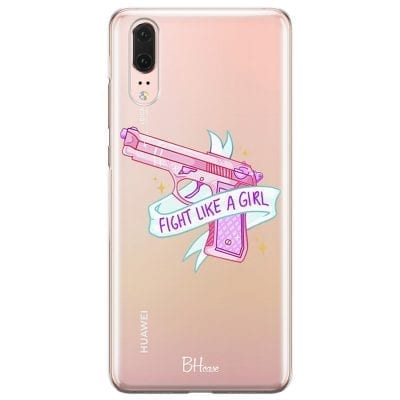 Fight Like A Girl Case Huawei P20