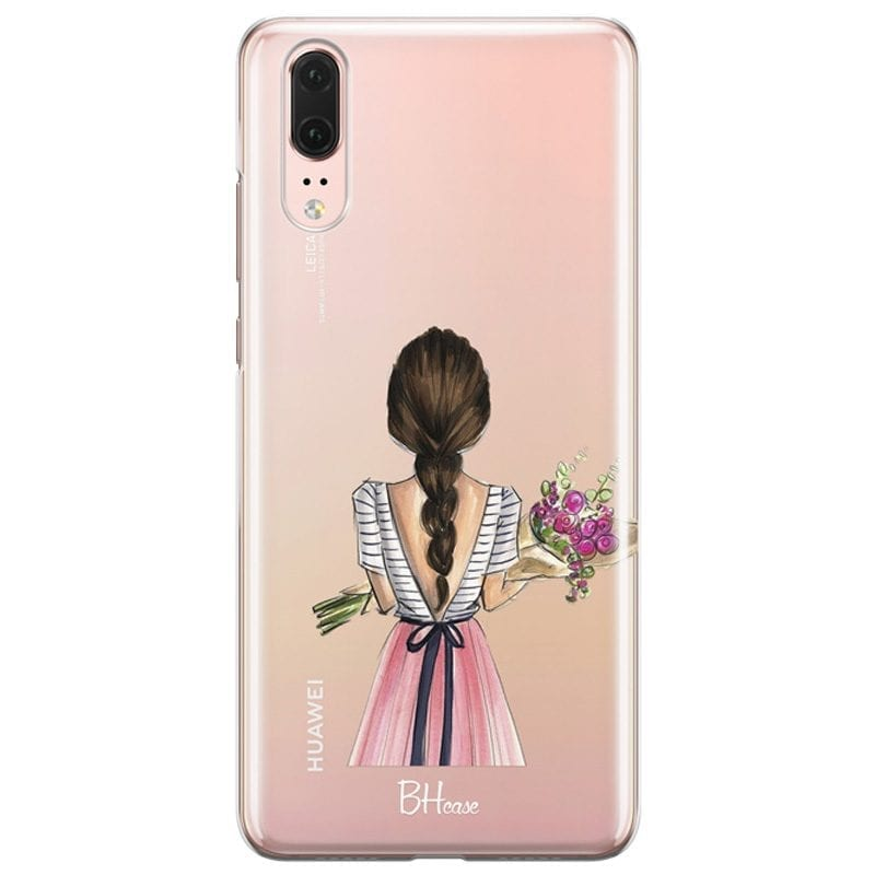 Floral Girl Case Huawei P20