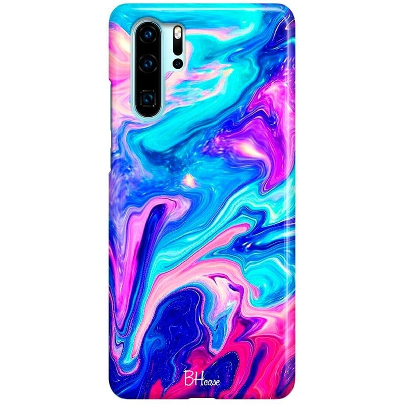 Abstract Blue Case Huawei P30 Pro