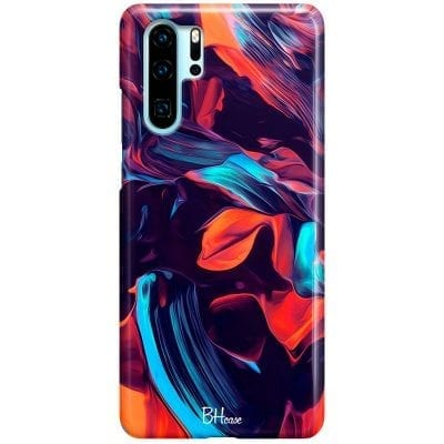 Abstract Purple Case Huawei P30 Pro