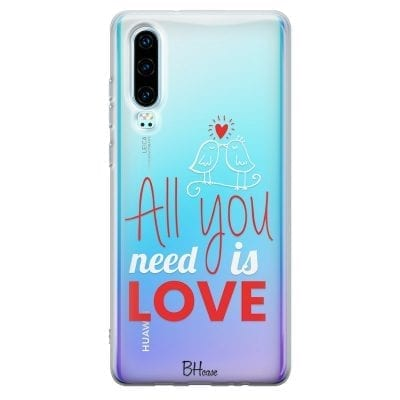 All You Need Is Love Case Huawei P30