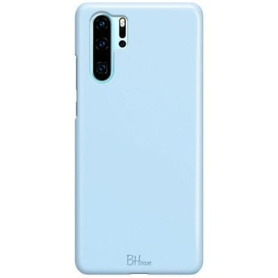 Baby Blue Color Case Huawei P30 Pro