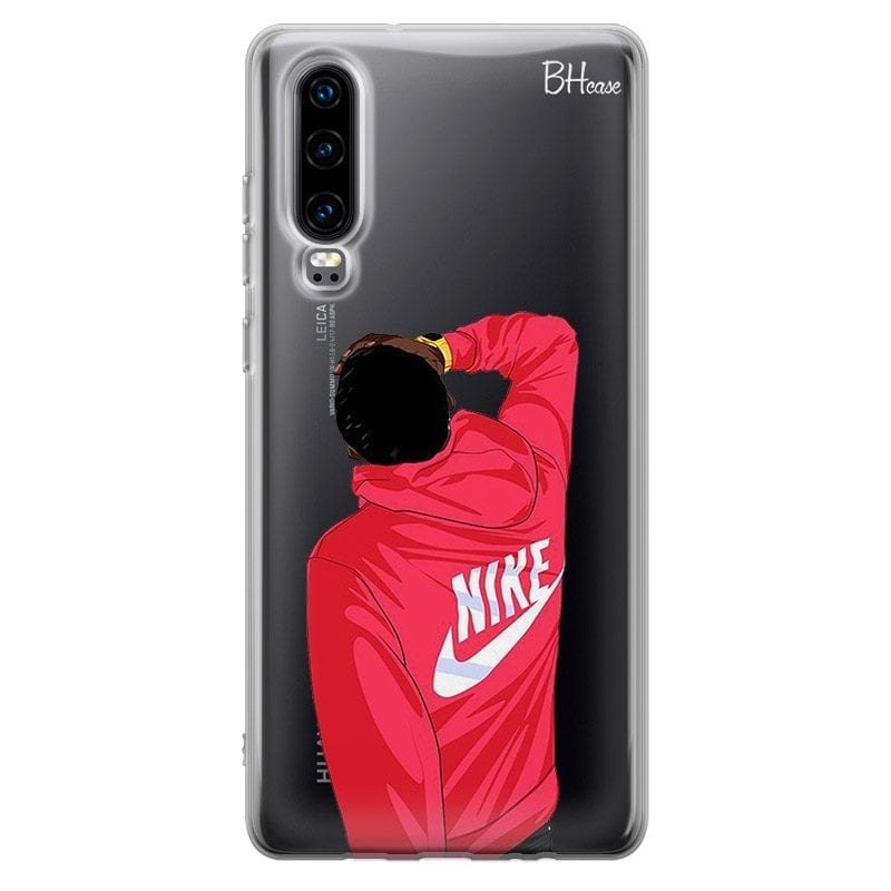 Back Boy Nike Case Huawei P30