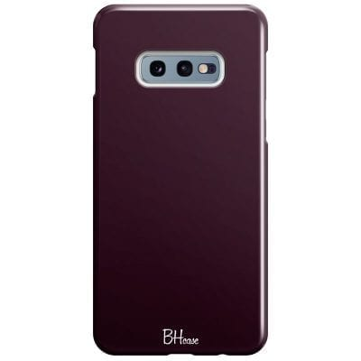 Blood Red Color Case Samsung S10e