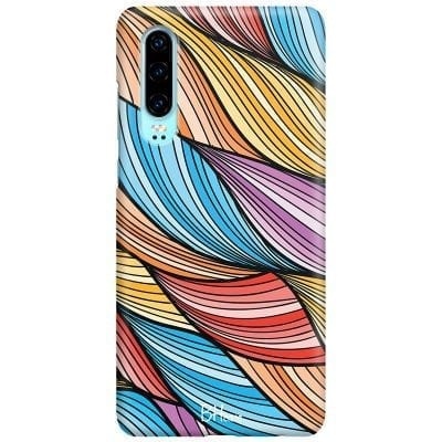 Color Waves Case Huawei P30