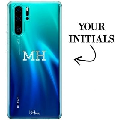 Case with initials for Huawei P30 Pro