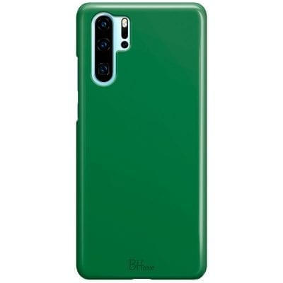 Dark Spring Green Color Case Huawei P30 Pro