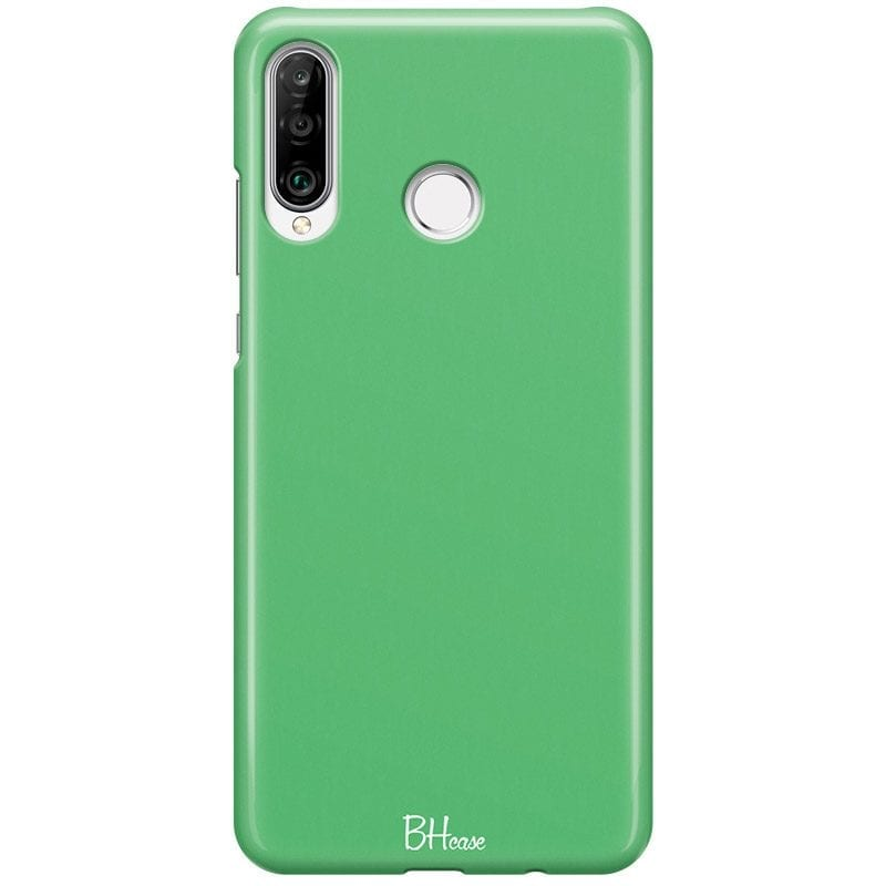 Emerald Color Case Huawei P30 Lite