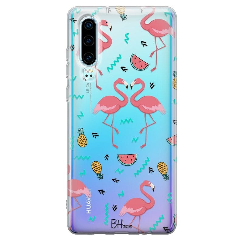 Flamingo Fruit Case Huawei P30