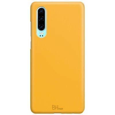 Honey Yellow Color Case Huawei P30