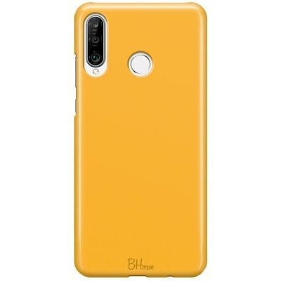 Honey Yellow Color Case Huawei P30 Lite