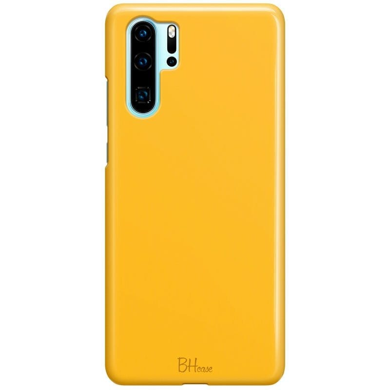 Honey Yellow Color Case Huawei P30 Pro