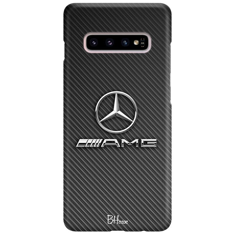 Mercedes AMG Logo Case Samsung S10 Plus