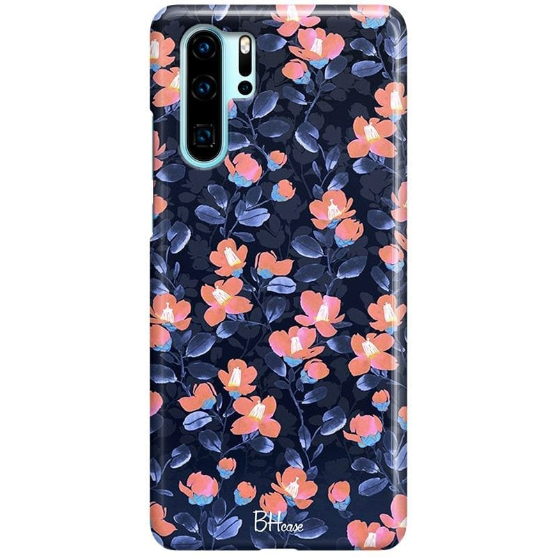 Midnight Floral Case Huawei P30 Pro