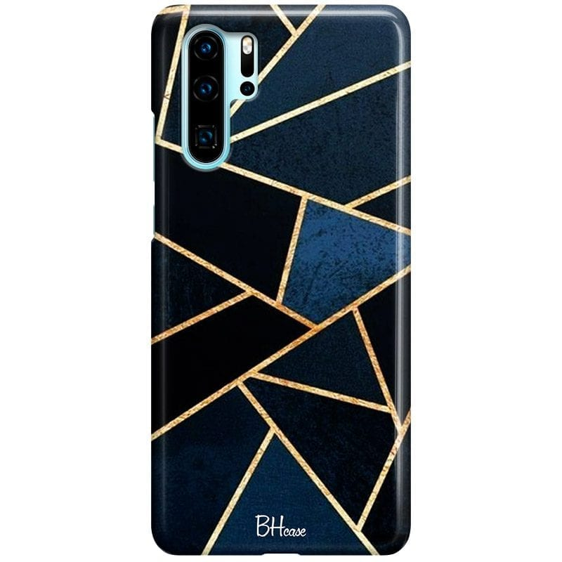 Midnight Geometric Case Huawei P30 Pro