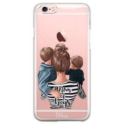 Mom of Boys Case iPhone 6/6S