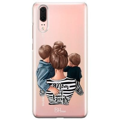 Mom of Boys Case Huawei P20