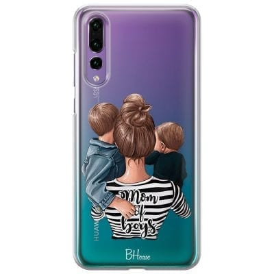 Mom of Boys Case Huawei P20 Pro
