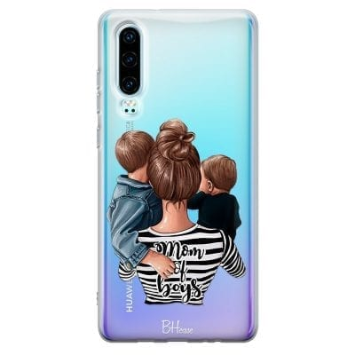Mom of Boys Case Huawei P30