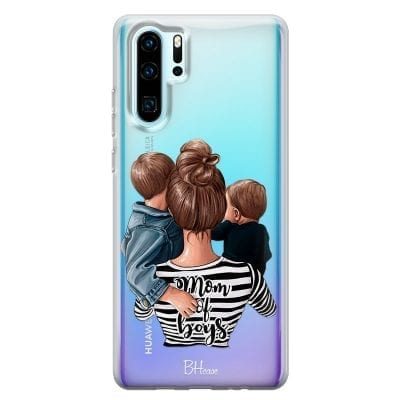 Mom of Boys Case Huawei P30 Pro