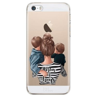 Mom of Boys Case iPhone SE/5S