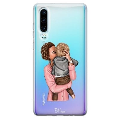 Mom With Baby Case Huawei P30